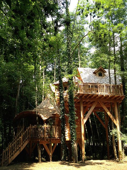 les cabanes du moulin cabane dans les arbres en ile de france 77. Black Bedroom Furniture Sets. Home Design Ideas