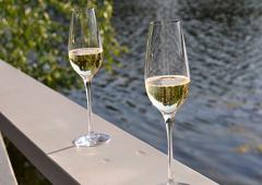 Deux coupes de Champagne