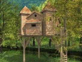 cabane de la riviere