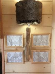 élément de décor cabane spa