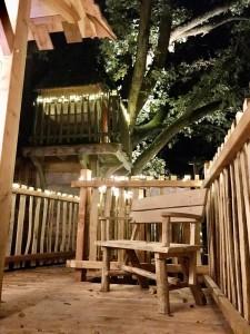 la terrasse cabane spa rivière